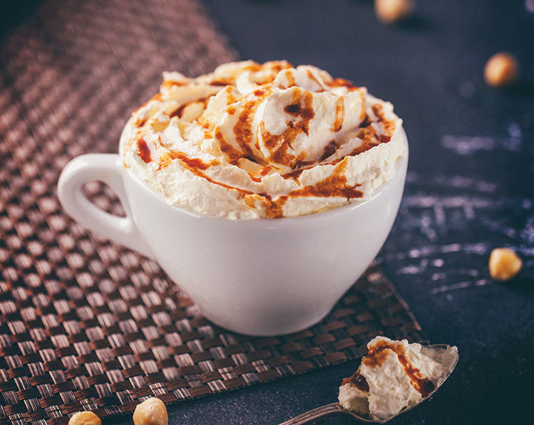 liskovo-oriskove latte
