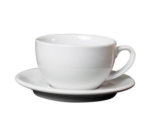 salek s podsalkem na cappuccino