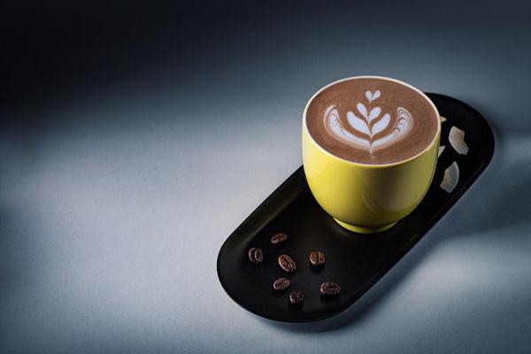 Mocha káva s kokosem