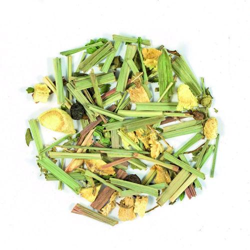sypany caj citronova trava a zazvor