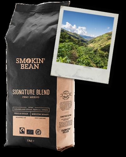 Obrázek Smokin Bean Signature BIO Coffee